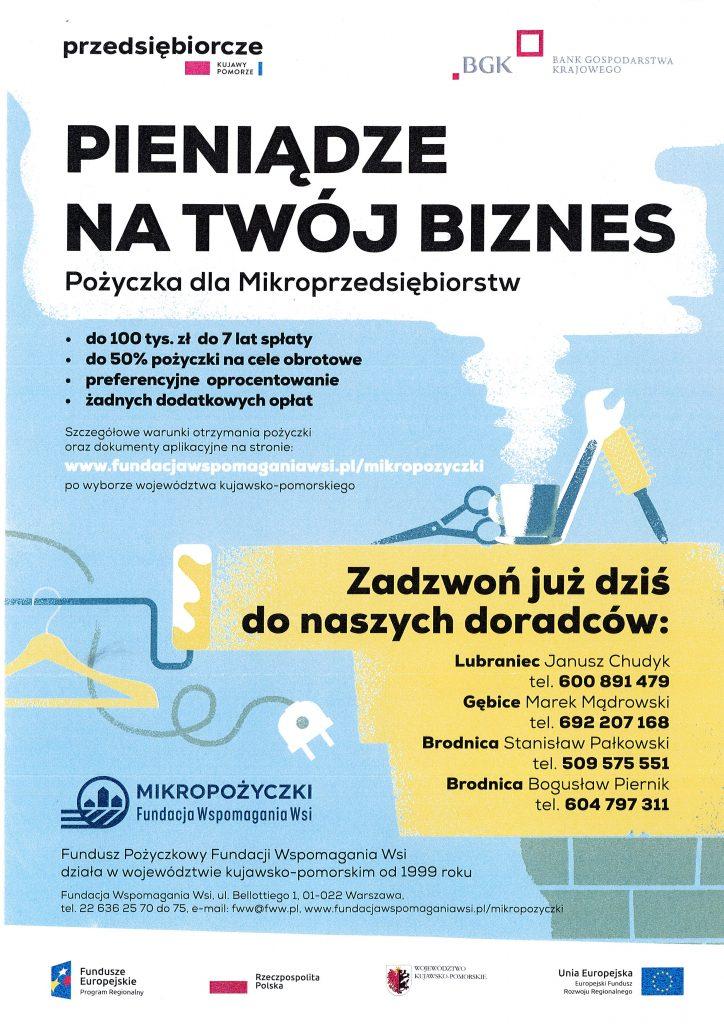 Pożyczka dla Mikroprzedsaiębiorstw