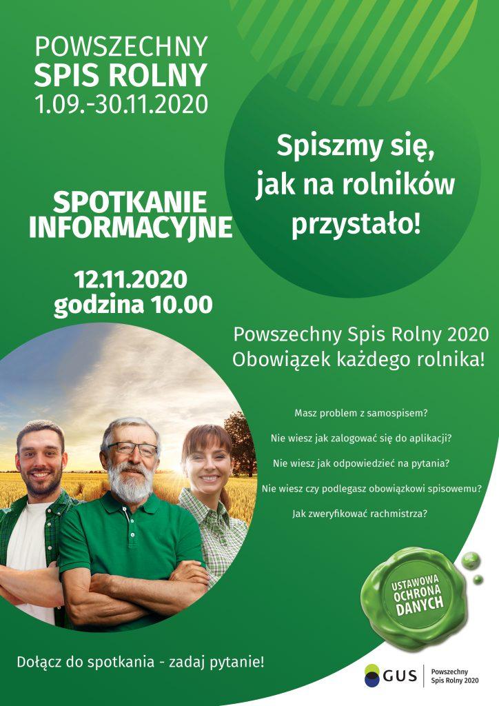 Spotkanie informacyjne PSR2020